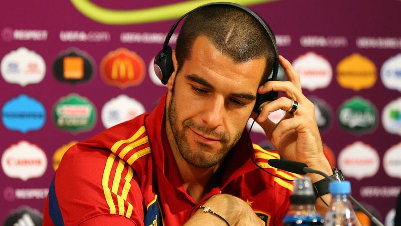 Spain Press Conference - UEFA EURO Semi-Final 2012